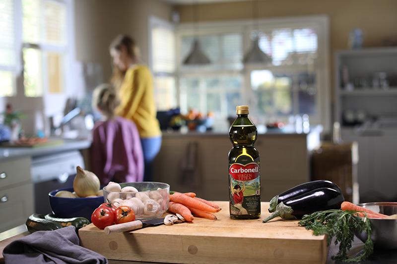 Es bueno el aceite de oliva virgen extra para cocinar