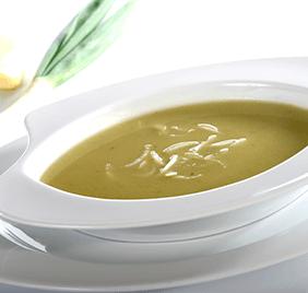 Sopa rápida de kale