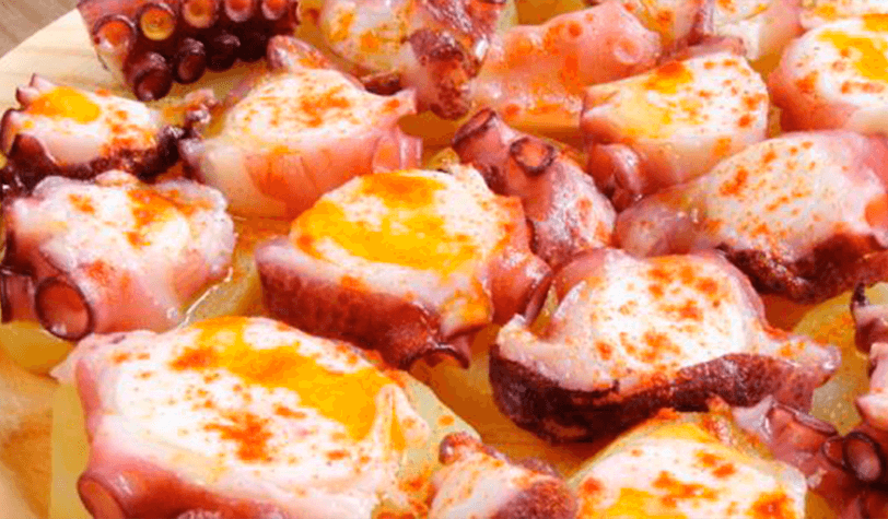 Montaditos de Pulpo